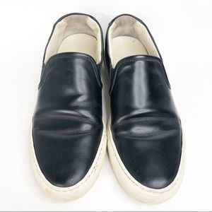 Woman by Common Projects Black Slip On Sneakers